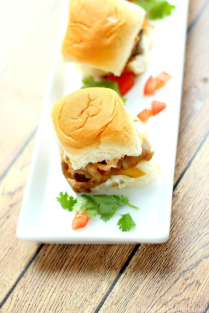 Omaha Steaks Bison Sliders with Chipotle Aioli (28)
