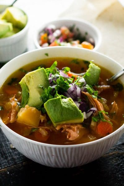 Mexican Chicken Soup (Caldo de Pollo)