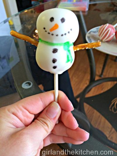 Freshly Baked Fridays Snowman Cake Pops-013