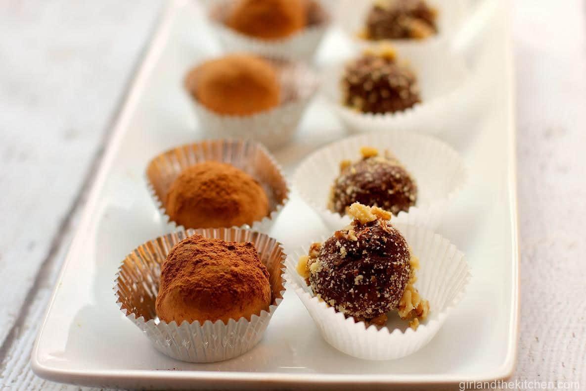 Home made Nutella Truffles