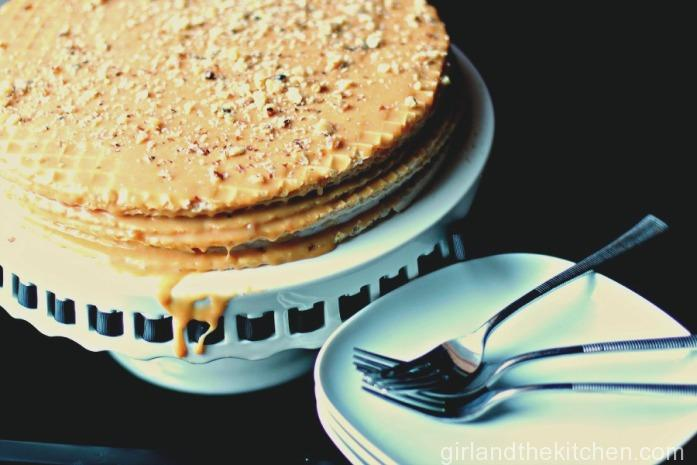 Babushka's Vafilney Tort from the Girl and the Kitchen