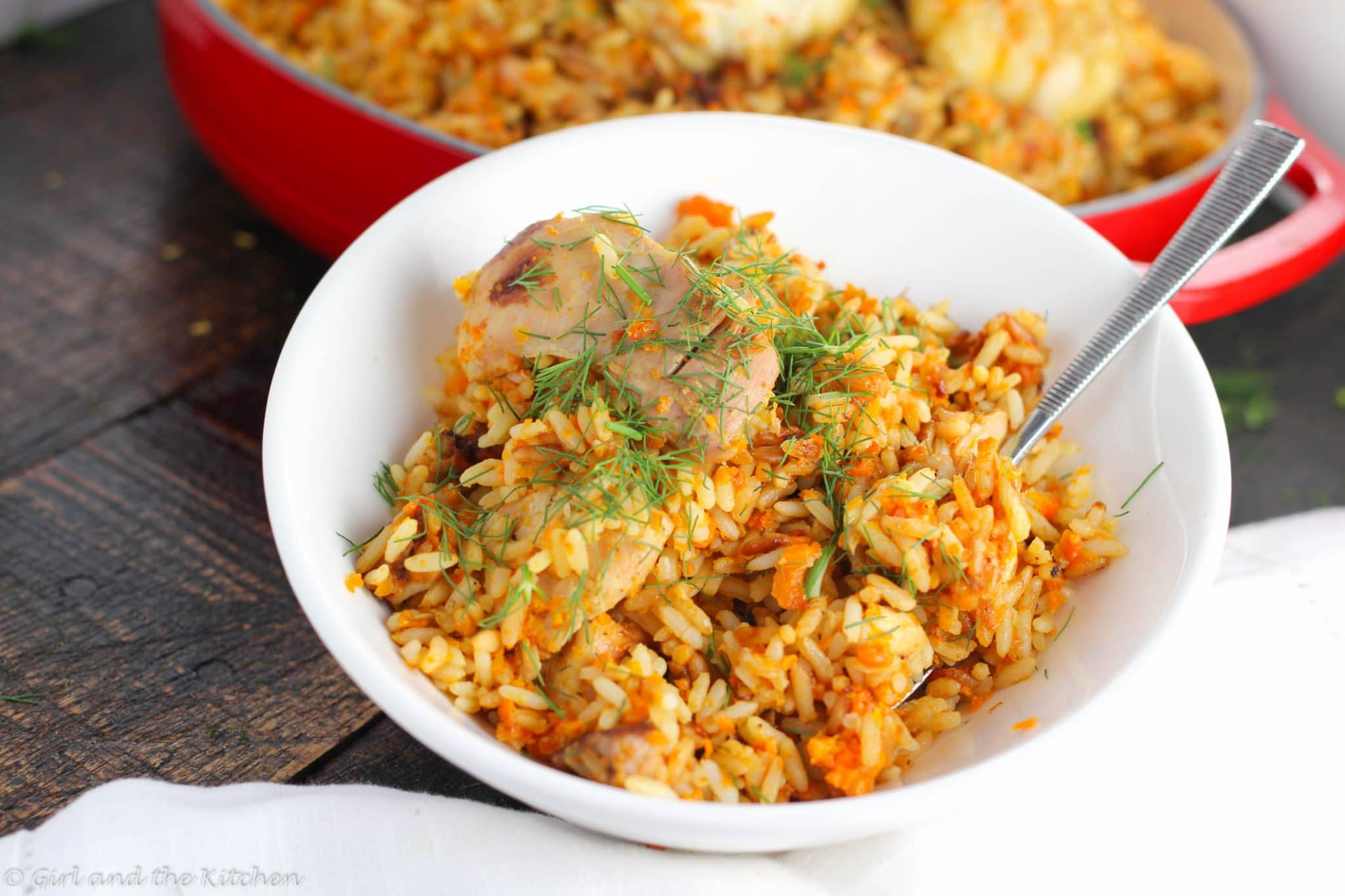 Russian PlovA One Pot Chicken and Rice Recipe Girl and the