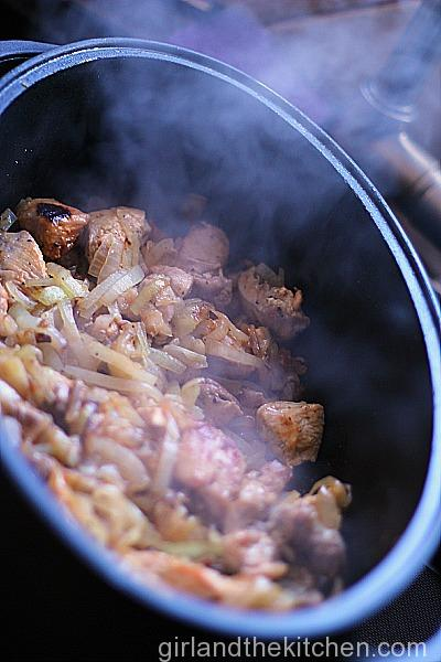 Plov is the ultimate Russian comfort food. It's a one pot chicken and rice dish that is packed with flavors and spices and just takes a few steps to reach ultimate rice perfection. Perfect rice and tender chicken that beg you for just another bite.  Plus it's SUPER freezer friendly!  How awesome is that!