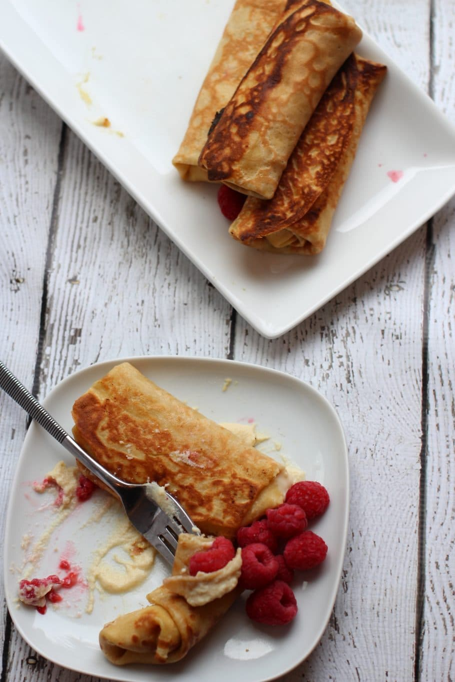 stuffed crepes/Cheese Blintzes-PINTEREST