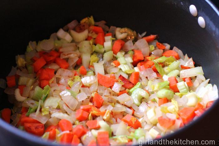 Fast Chicken Noodle Soup-004