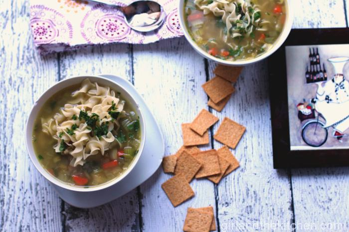 Fast Chicken Noodle Soup-018