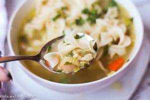http://girlandthekitchen.com/better-than-canned-quick-chicken-noodle-soup/