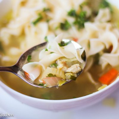 https://girlandthekitchen.com/better-than-canned-quick-chicken-noodle-soup/