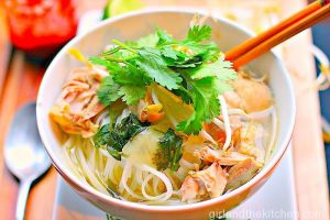 Vietnamese Chicken Soup. Girl and the Kitchen-001