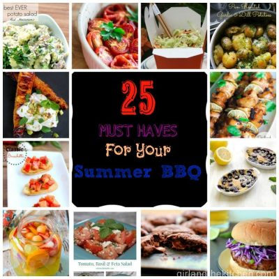 25 Must Have BBQ Recipes