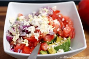 Feta and Avocado Salad