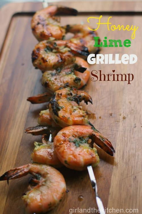 Honey Lime Grilled Shrimp7