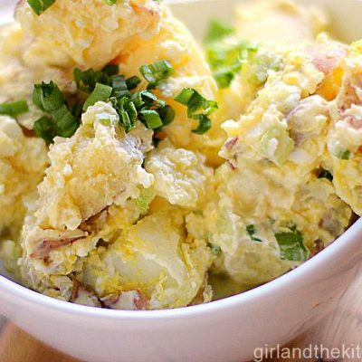 The Ultimate Potato Salad from the Girl and the Kitchen