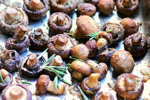Rosemary Roasted Mushrooms