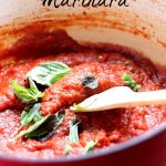 Freezer Friendly Marinara from the Girl and the Kitchen