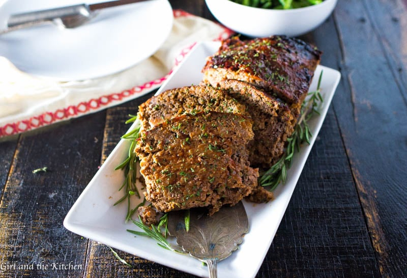 Moist Turkey Meatloaf With Rosemary Girl And The Kitchen