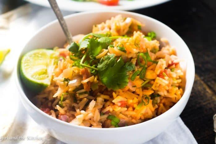 Quick and Easy Restaurant Style Mexican Rice