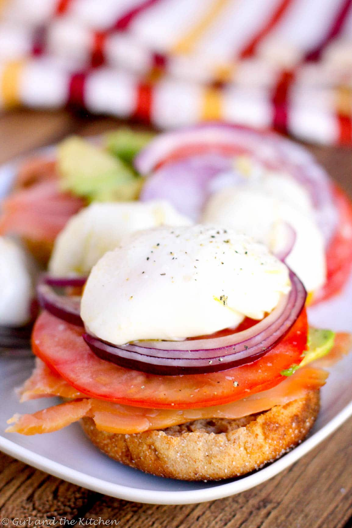 Smoked Salmon and Poached Egg Sandwich  (3 of 6)