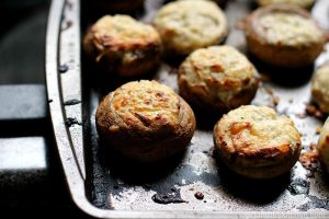 Savory and Easy Stuffed Mushrooms