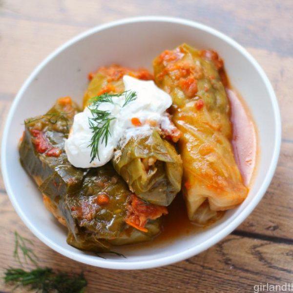 """Galuptsi"" - Traditional Russian Cabbage Rolls...Голубцы"