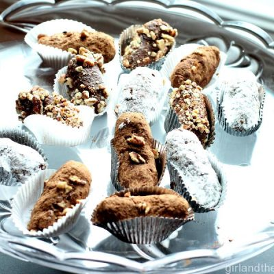 "Russian Chocolate NO BAKE Cookies ""Perozhina Kartoshka"" …Картошка"