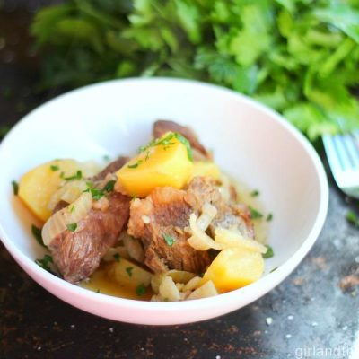 Ultimate Pot Roast...жаркое from the Girl and the Kitchen