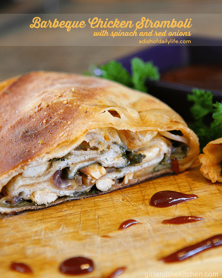 This-barbeque-chicken-stromboli-with-spinach-and-red-onions-is-perfect-for-your-game-day-menu-PartywithBigY-ad