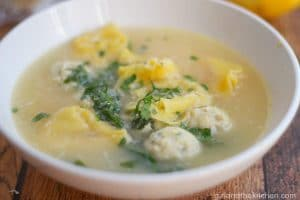Tortellini en Brodo from the Girl and the Kitchen