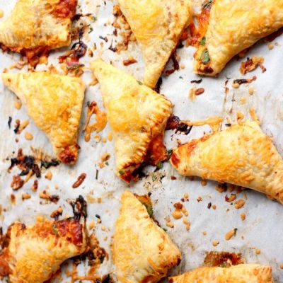 BBQ Chicken Pizza Turnovers