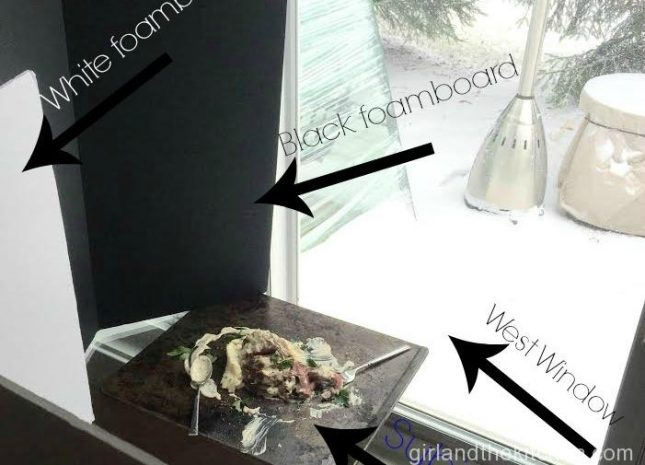 A Peek Behind the Scenes of a Food Blogger… My Food Photography Set-Up