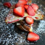 A fancied up version of the classic French Toast stuffed with juicy strawberries and sweet cream cheese.