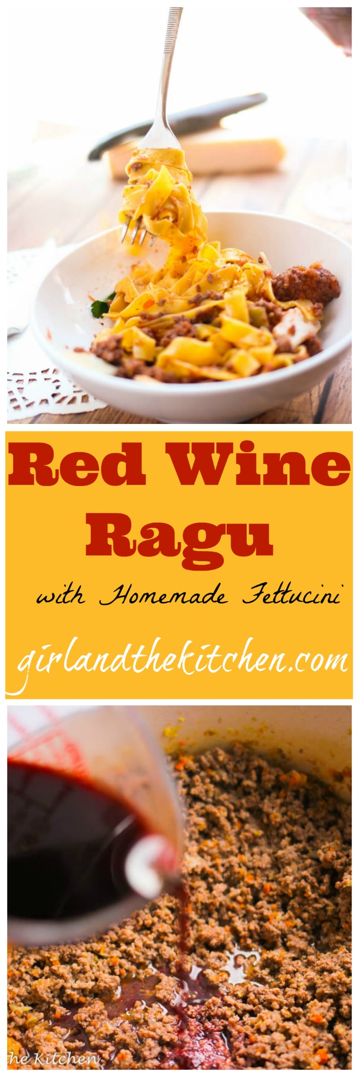 A Classic Italian Red Wine And Beef Ragu Ideal For Weeknight Dinner Or Fancy