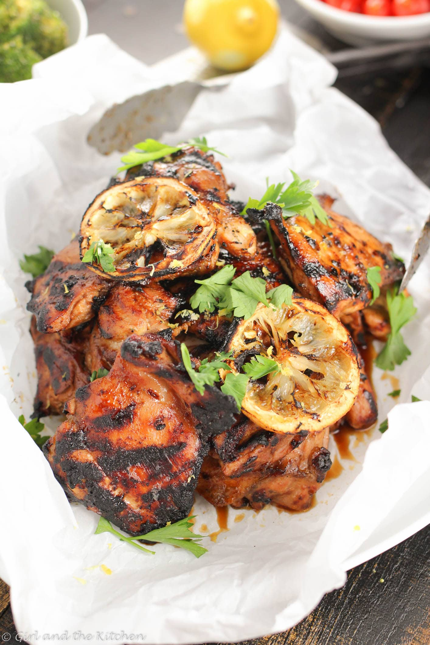 An incredibly easy and uber flavorful grilled chicken recipe full of tangy and smoky flavors all made with an extremely versatile rub!