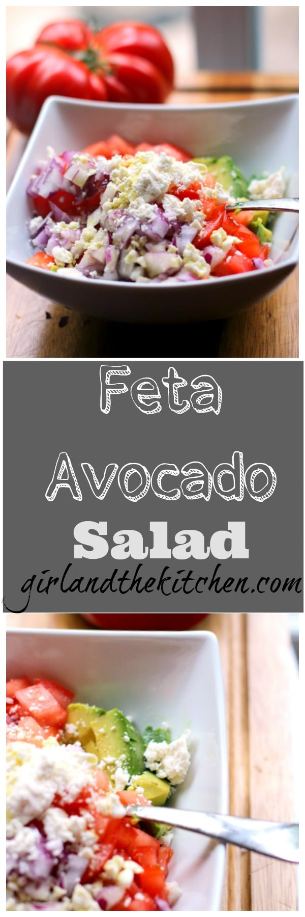 Feta and Avocado salad