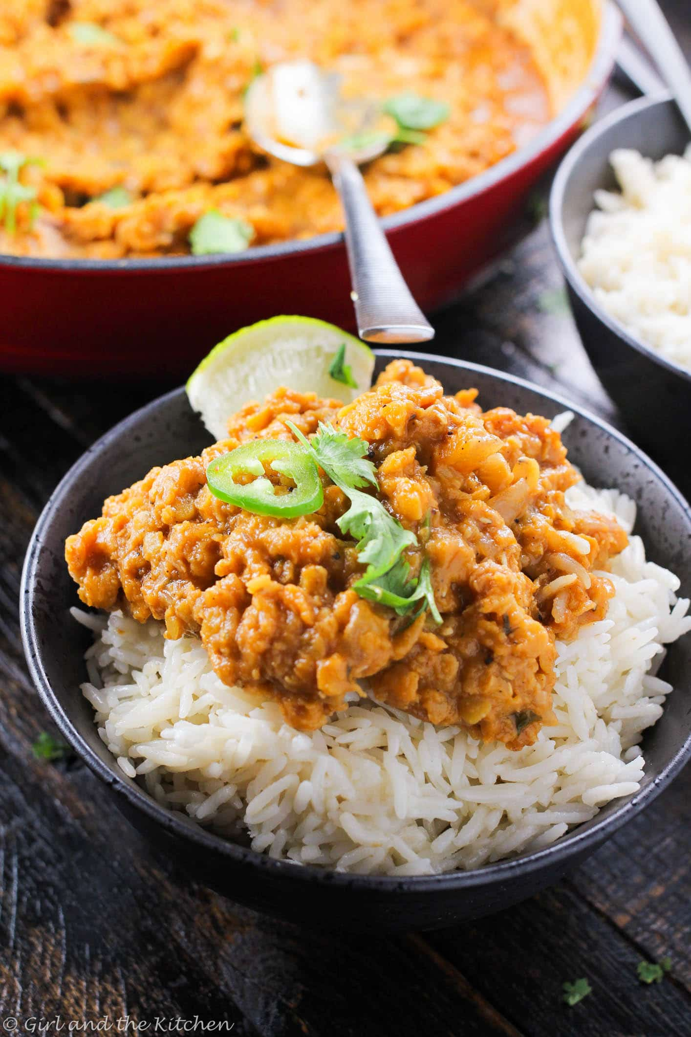 Lentils have gotten a bad rep. And I think I need to fix that. Lentils are full of fiber, protein, incredible texture and best of all they are super economical! My saucy coconut lentils are packed with savory flavors and sweet, creamy coconut milk. Serve it with rice, naan or nothing at all :)