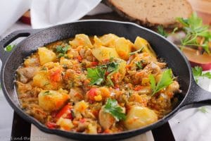 Summer Vegetable Stew…A One Pot Meal
