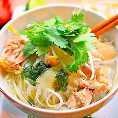 Vietnamese Chicken Noodle Soup…A Big Bowl Copykat