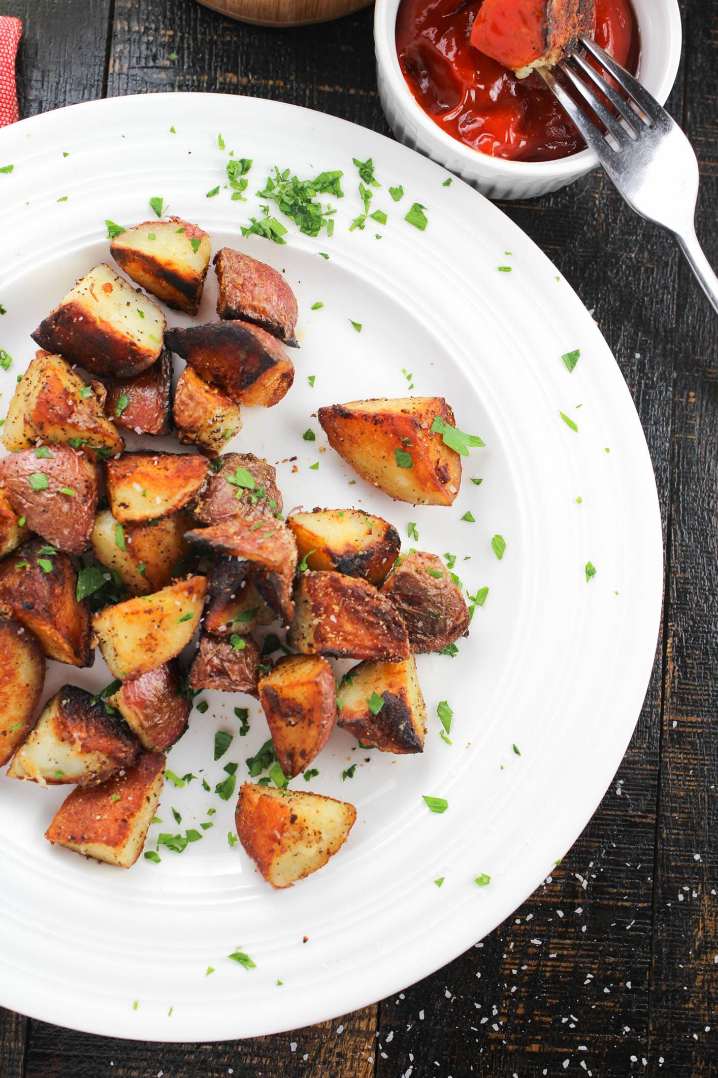 Easy Vegan CRACK Breakfast Potatoes