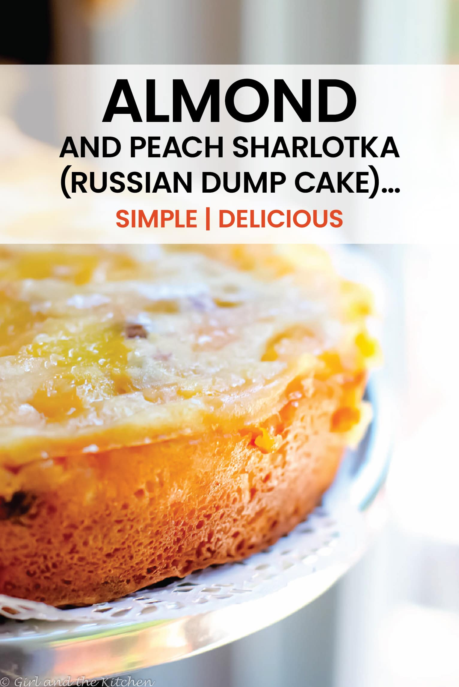 A sharlotka is a great Russian classic.