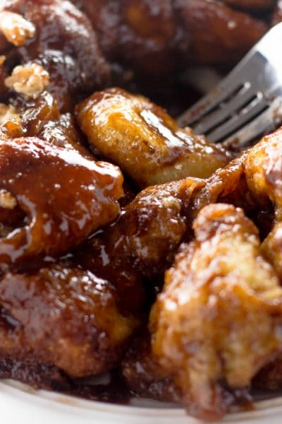 Nutella and Cream Cheese Stuffed Monkey Bread Recipe