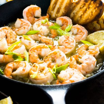 Easy Spicy Garlic Shrimp