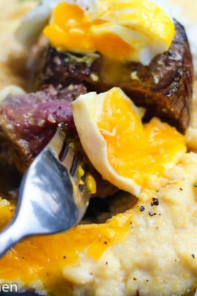 Gourmet Steak and Eggs Skillet