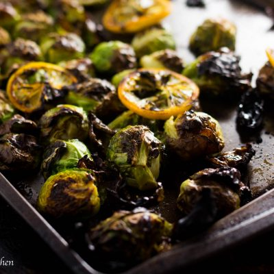 Easy Restaurant Style Crispy Brussel Sprouts