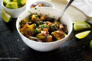 Mexican Roasted Potatoes…A Great Potato Salad Recipe