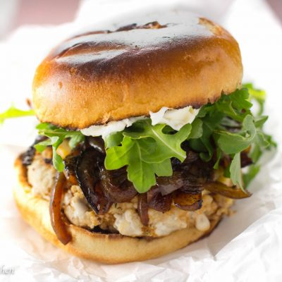 Juicy Grilled Turkey Burger