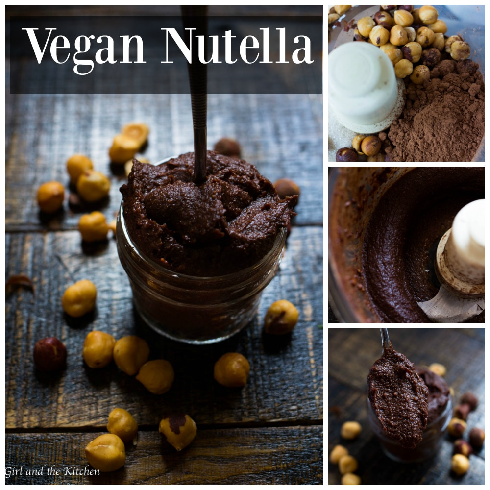 Nutella meet your vegan match.  Perfectly roasted hazelnuts are combined with high quality cocoa to create the ultimate chocolaty vegan Nutella.  Perfect for all your Nutella needs...only healthier and more delicious!