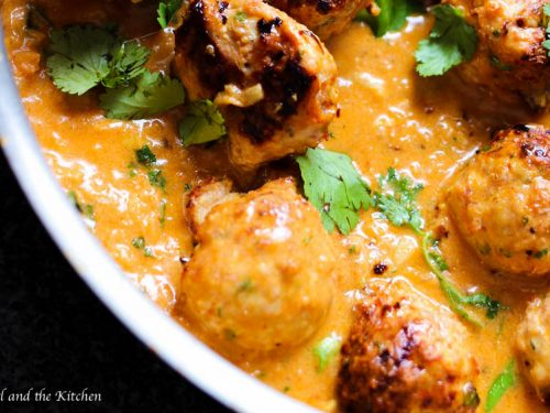 Red Curry Thai Turkey Meatballs