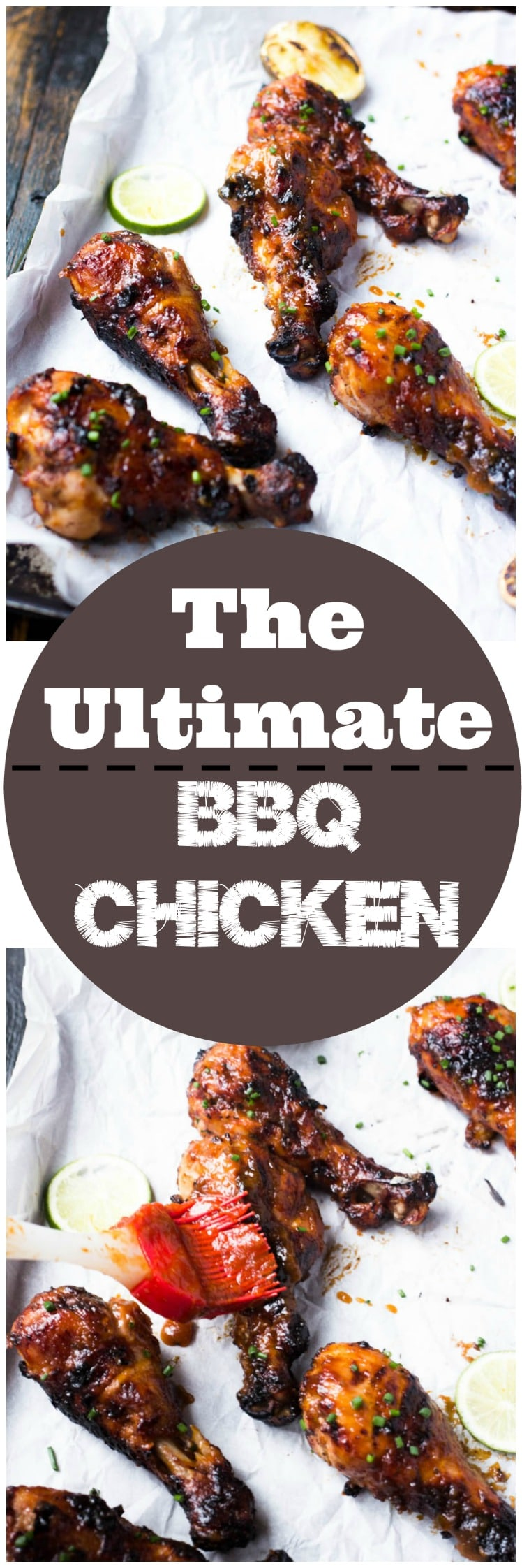 The ultimate BBQ chicken is slightly tangy and sticky sweet. Learn the restaurant secrets to cooking perfectly tender BBQ chicken and how to make a gloriously sweet and spicy sauce to mop on top of it.
