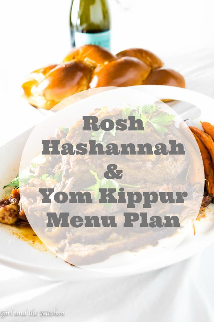 Easy Rosh Hashanah/ Yom Kippur Dinner Menu (Freezer ...