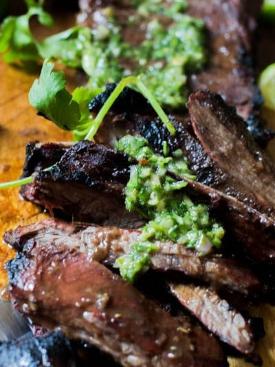 A deliciously simple and savory steak marinade that takes an ordinary steak to a gorgeously tender and scrumptious piece of meat. As a bonus it is great on veggies!